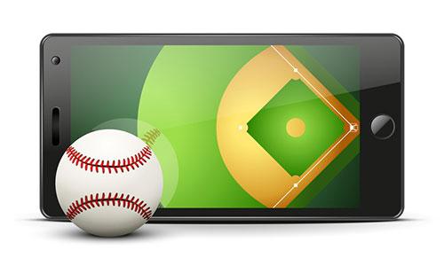 スマホ 野球